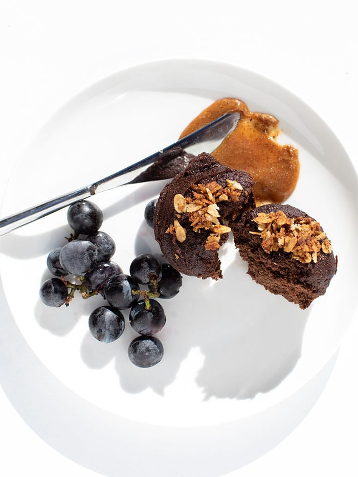 Sakara chocolate love muffin