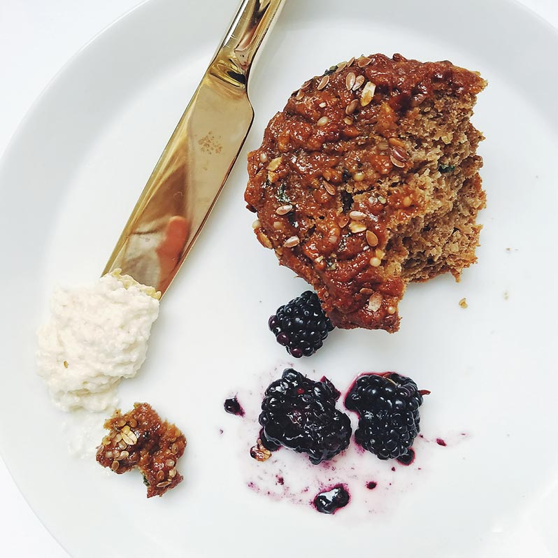 Zen Muffin breakfast from Sakara
