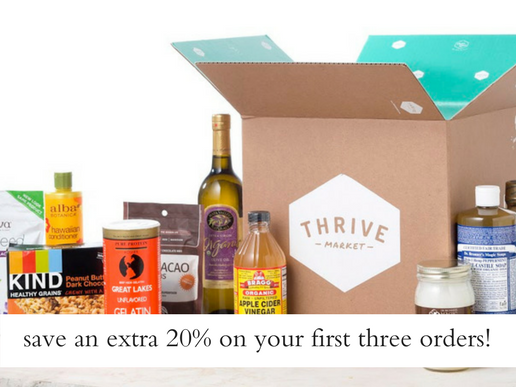 thrive market discount code