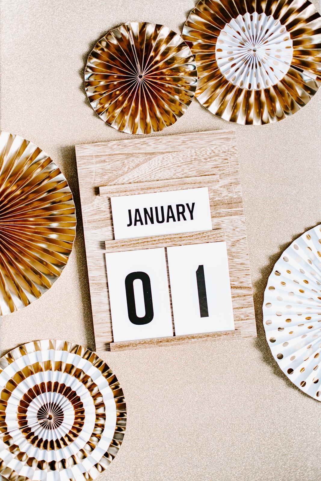 calendar new years