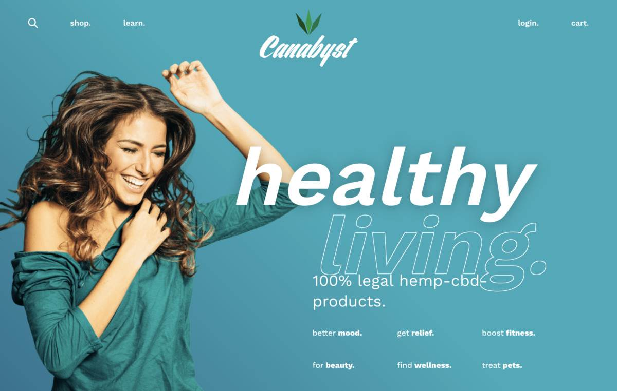 organic cbd products from canabyst