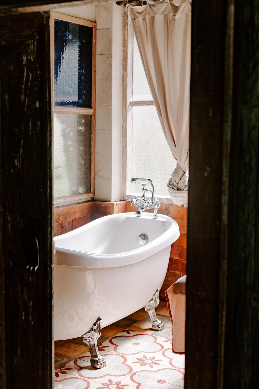 self-care idea bath