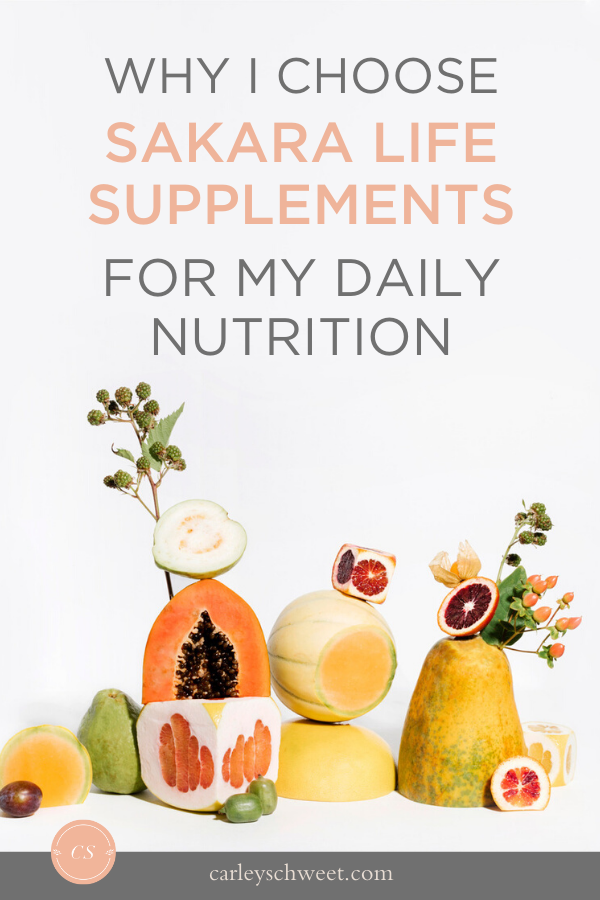 Daily nutrition supplements