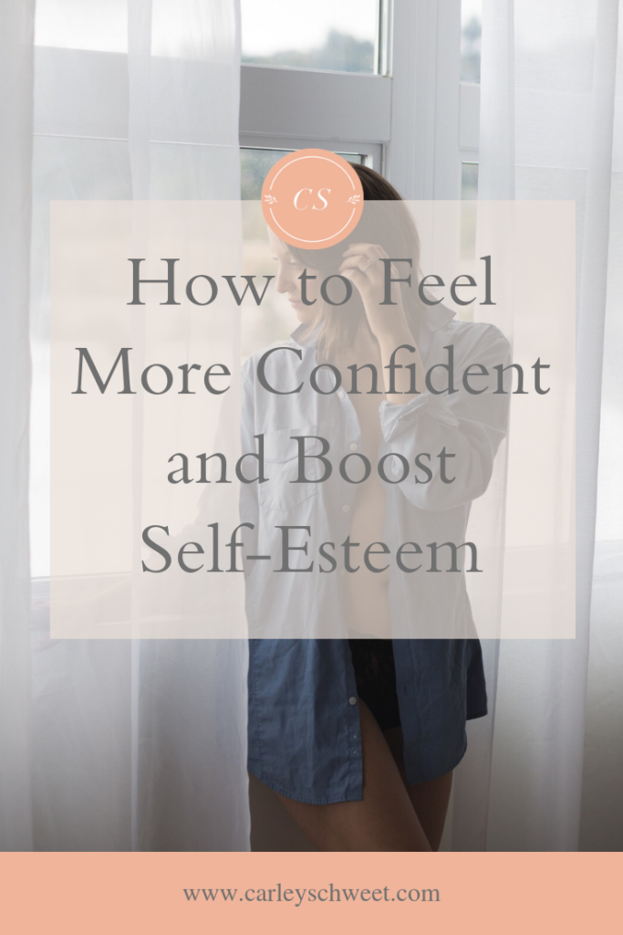 How to feel more confident and boost self-esteem