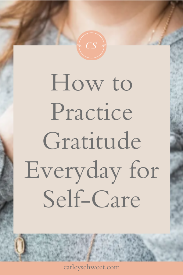 Everyday self-care