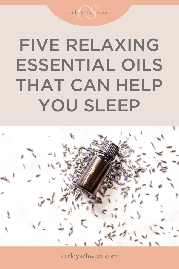Five relaxing essential oils