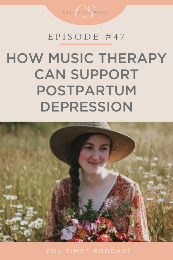 Postpartum depression and music therapy
