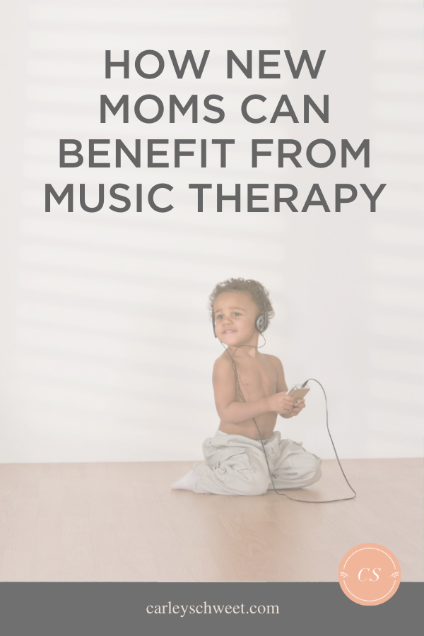 Music therapy for postpartum depression