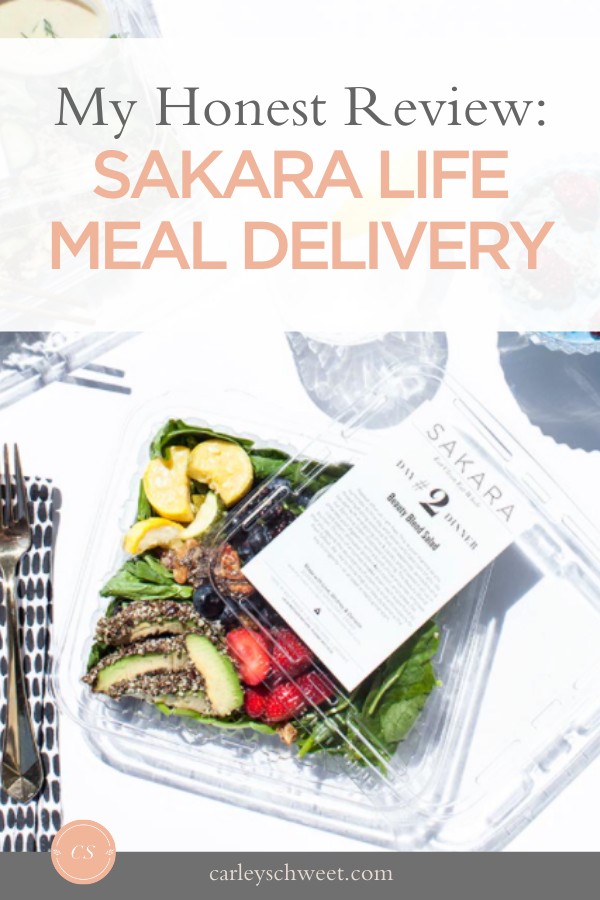 My review of sakara life meal delivery
