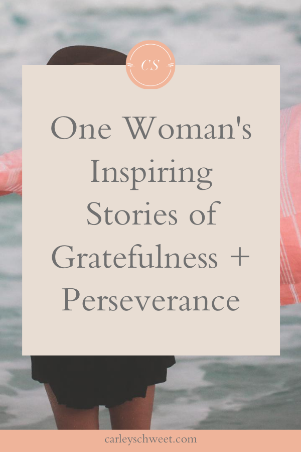 One woman's inspiring stories
