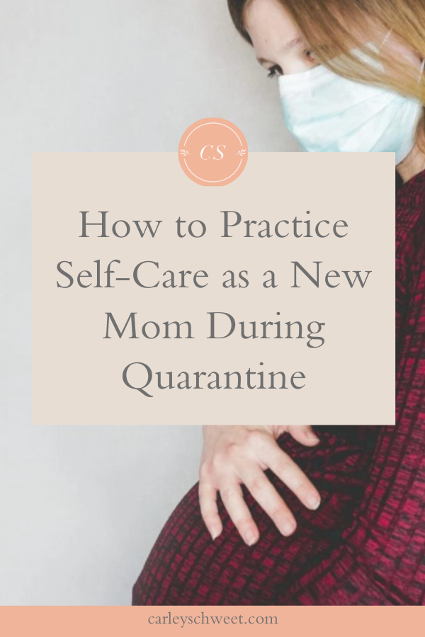 How to practice self-care as a new mom
