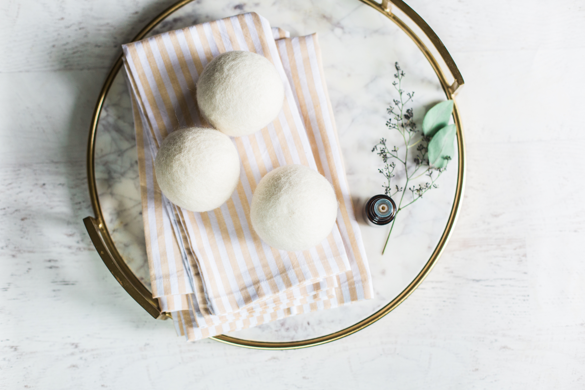 Dryer Balls and Essential Oils