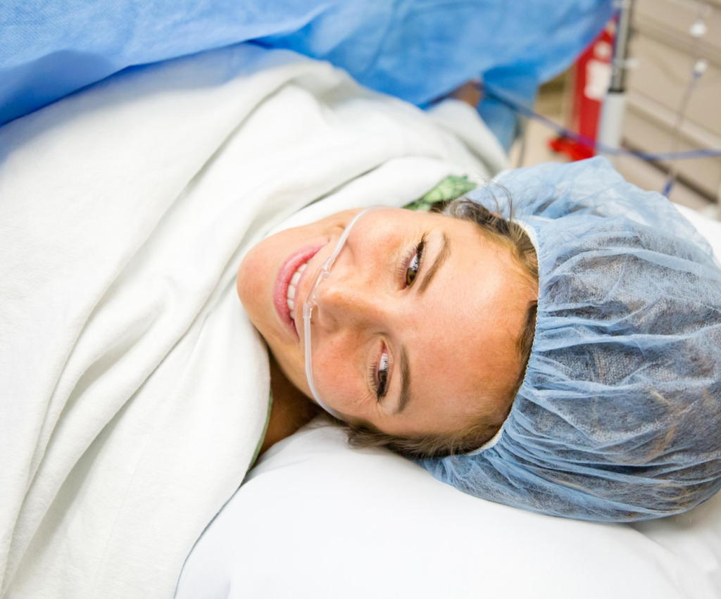 what to put in a c-section birth plan