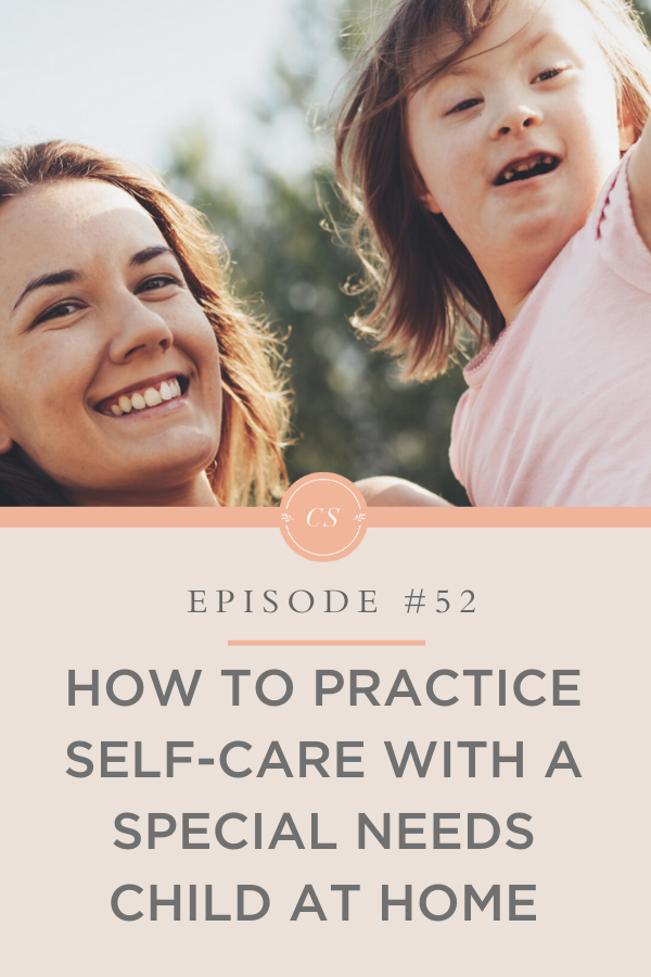 Self-care support for parents