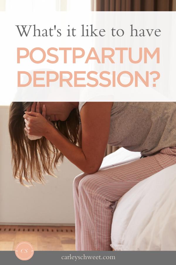 An honest story of postpartum despression
