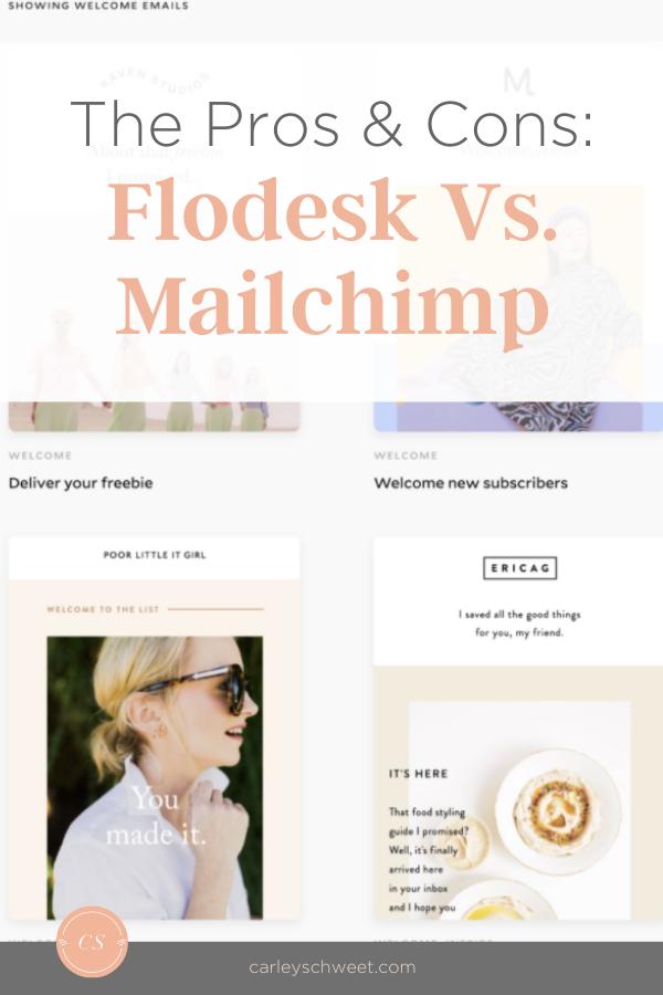 FloDesk vs Mailchimp marketing services