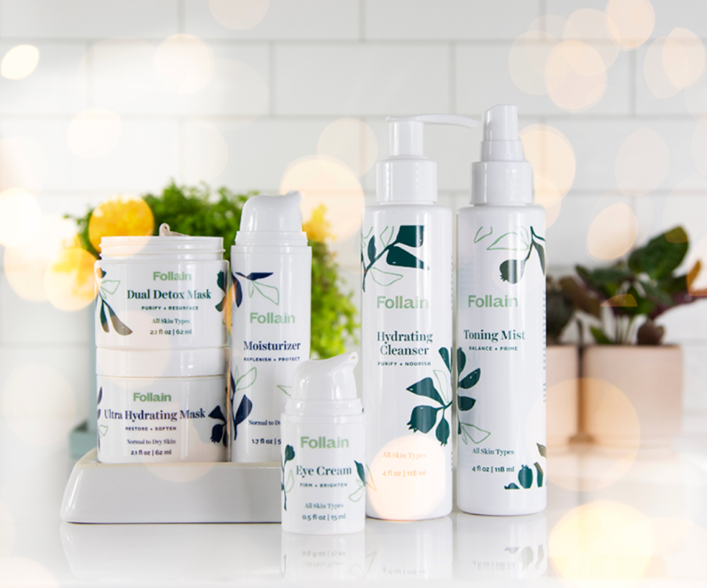 Follain clean beauty skincare collection