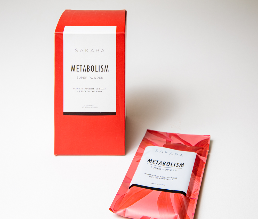 Sakara Metabolism Super Powder Packets