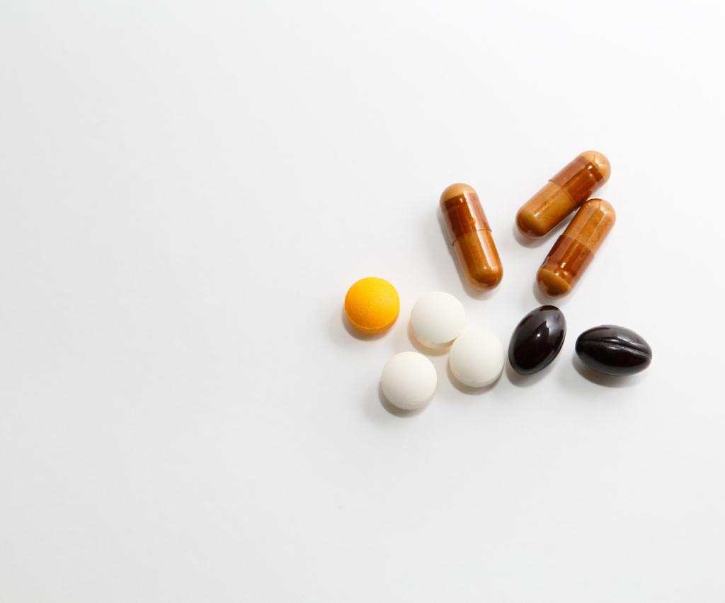 various herbal supplements
