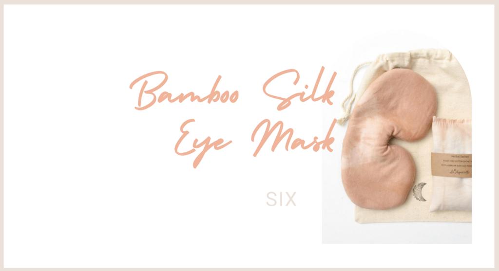 Bamboo Silk Eye Mask