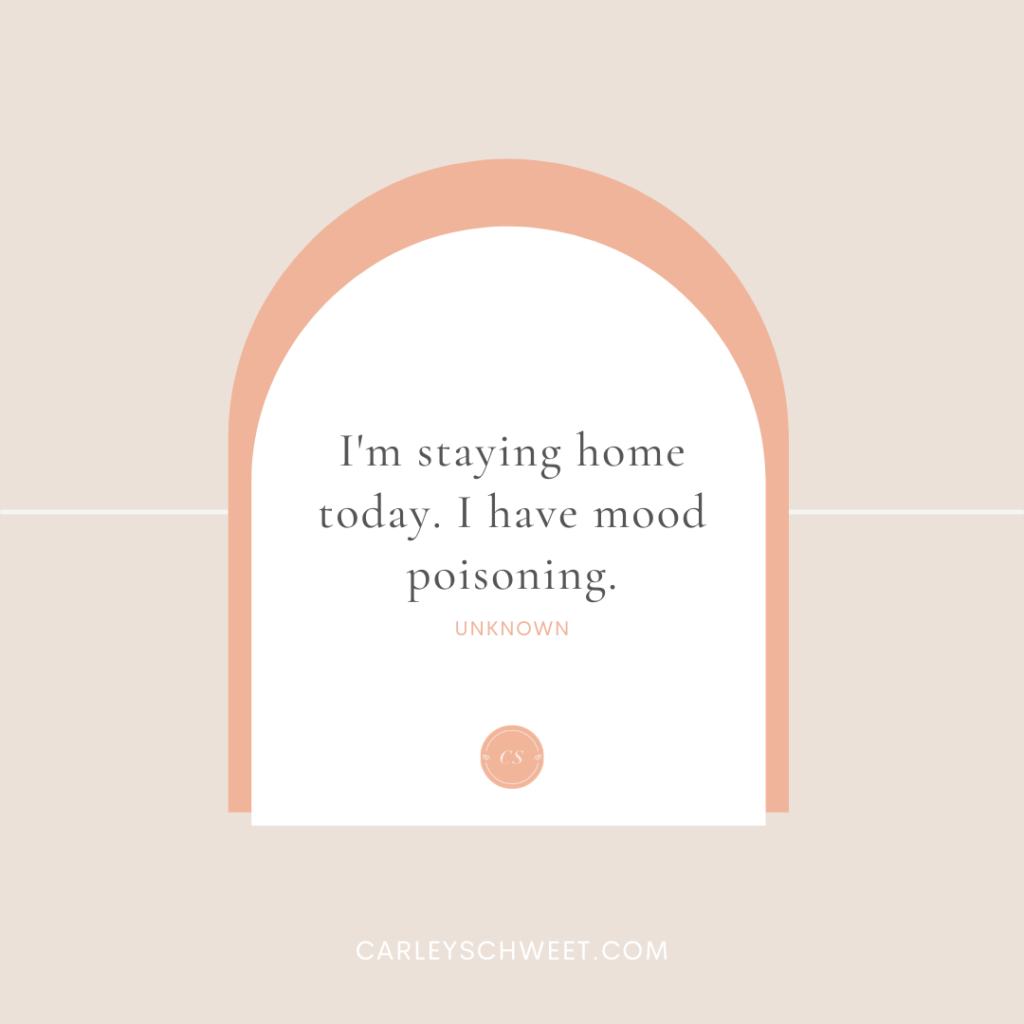 sassy self-care quote